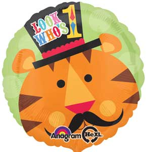 1st Birthday Fisher Price Tiger Foil Balloons